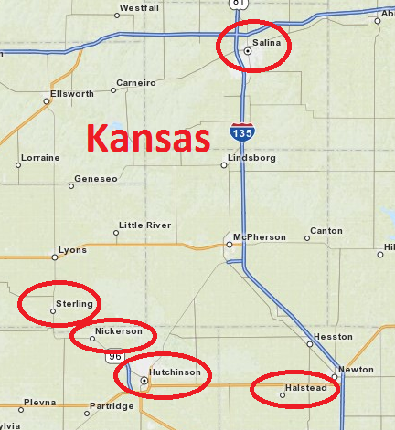 Picnic Filming Locations in Kansas